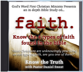 Faith CD - Defining Faith and Believing