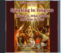 Speaking in Tongues Audio CD